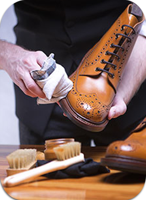 Shoes dry cleaning
