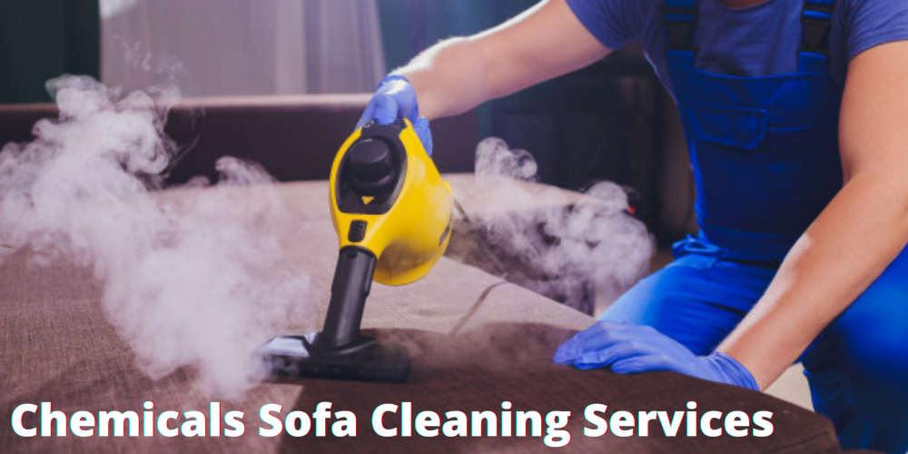 What kind of chemicals do sofa cleaning services ?